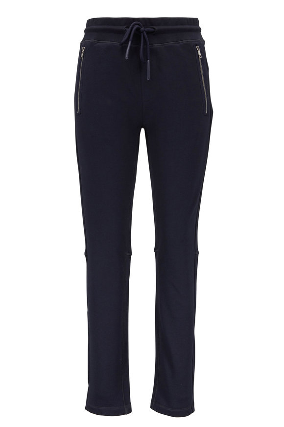 Moncler Navy Cotton Sweatpant