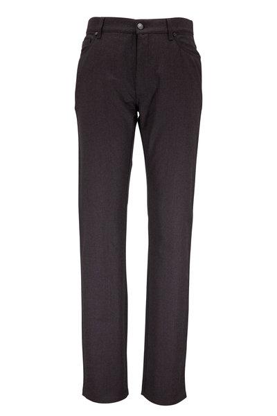 Ermenegildo Zegna - Brown Wool Five-Pocket Pant