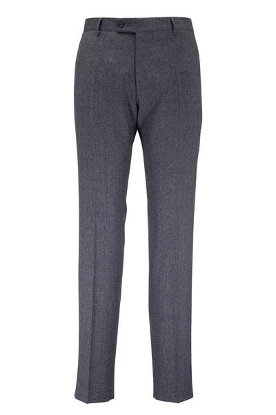Maurizio Baldassari - Light Gray Wool Dress Pant