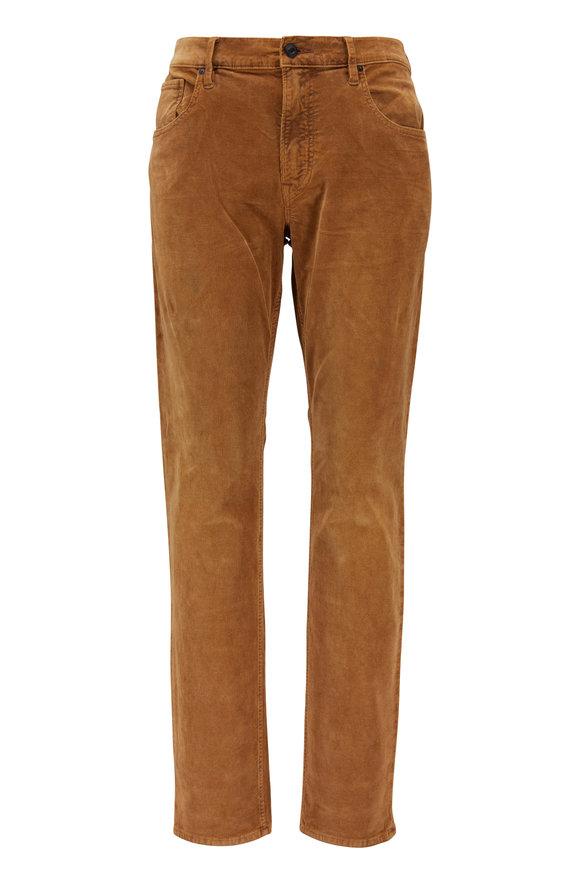 Hudson Clothing Blake Sienna Five Pocket Corduroy Pant