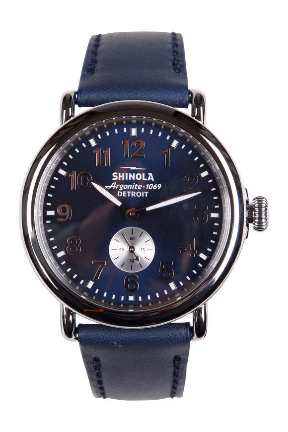 Shinola The Runwell Midnight Blue Watch, 41mm