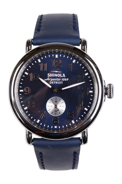 Shinola - The Runwell Midnight Blue Watch, 41mm