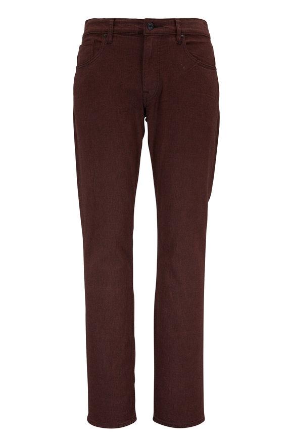 Hudson Clothing Blake Brown Slim Straight Jean