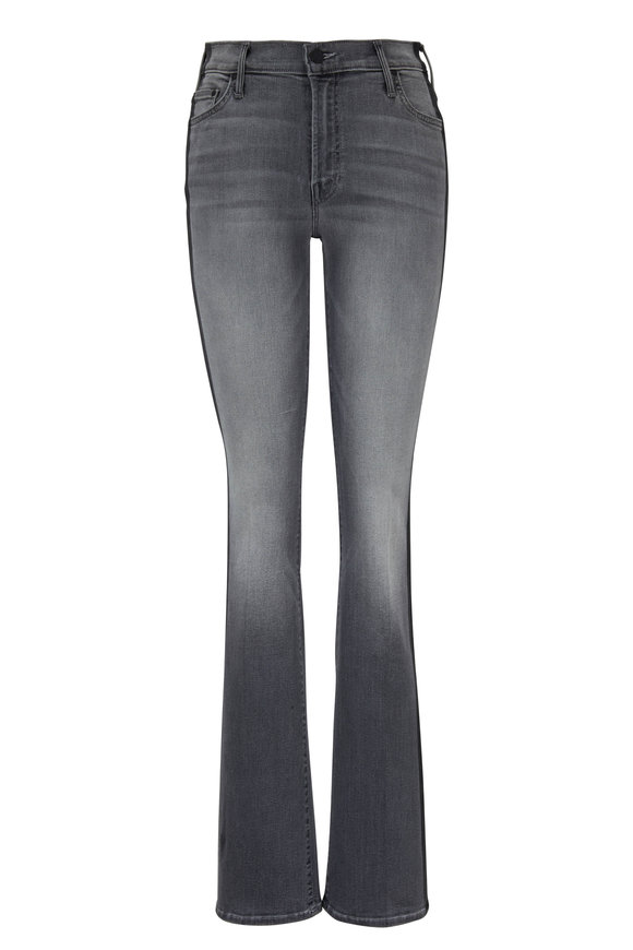 Mother Denim The Insider Side Stripe Flare Jean