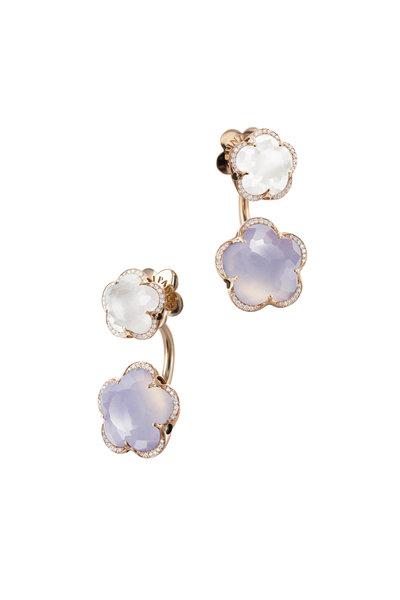 Pasquale Bruni - 18K Rose Gold Clover Earrings