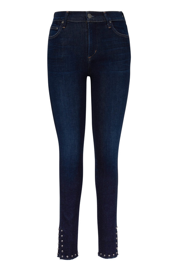 Citizens of Humanity Rocket Studded Ankle Skinny Jean