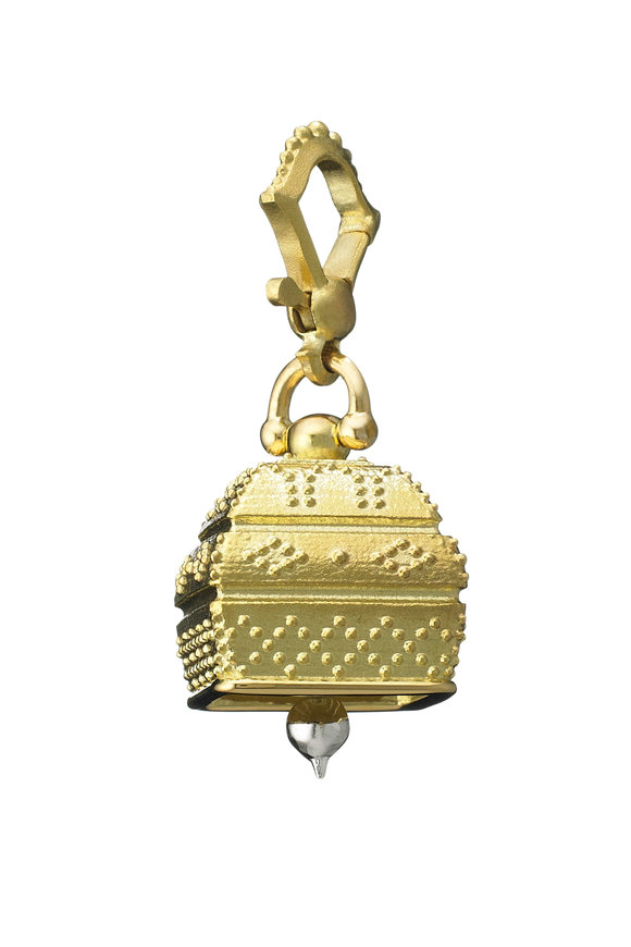 Paul Morelli Yellow Gold #4 Square Bell