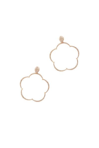 Pasquale Bruni - 18K Rose Gold Ton Jolie  Diamond Earrings