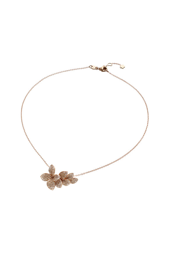Pasquale Bruni Rose Gold Giardini Segretti Necklace