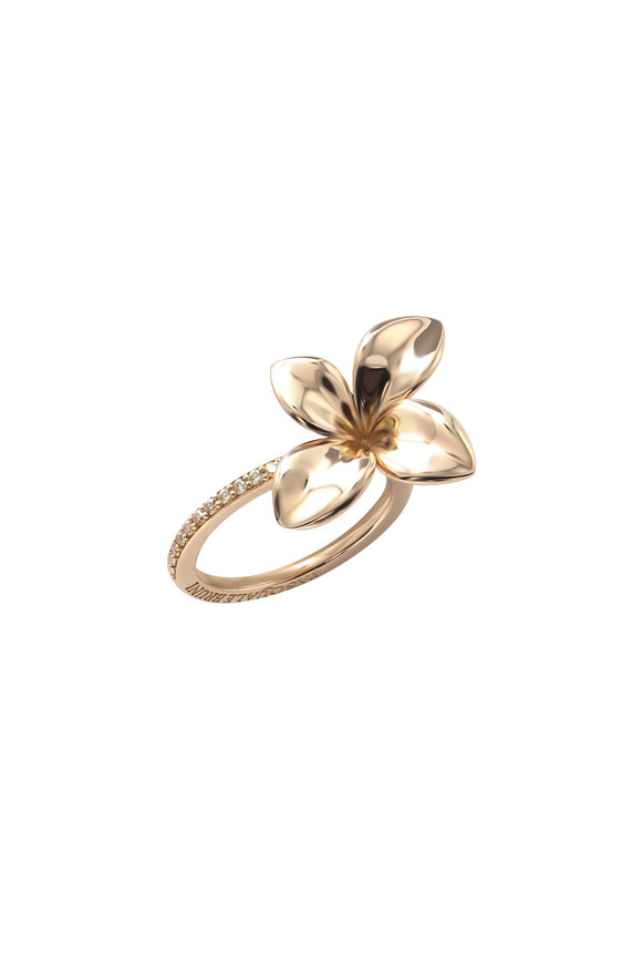 Pasquale Bruni 18K Rose Gold Petite Giardini Ring