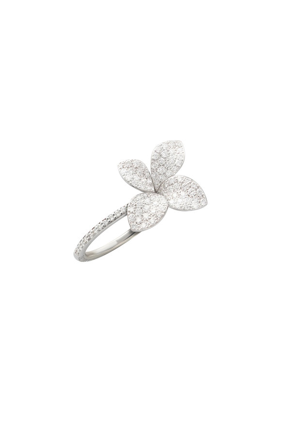 Pasquale Bruni 18K White Gold Giardini Ring