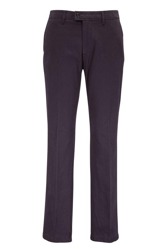 Brax Evans Charcoal Gray Flat Front Chino Pant