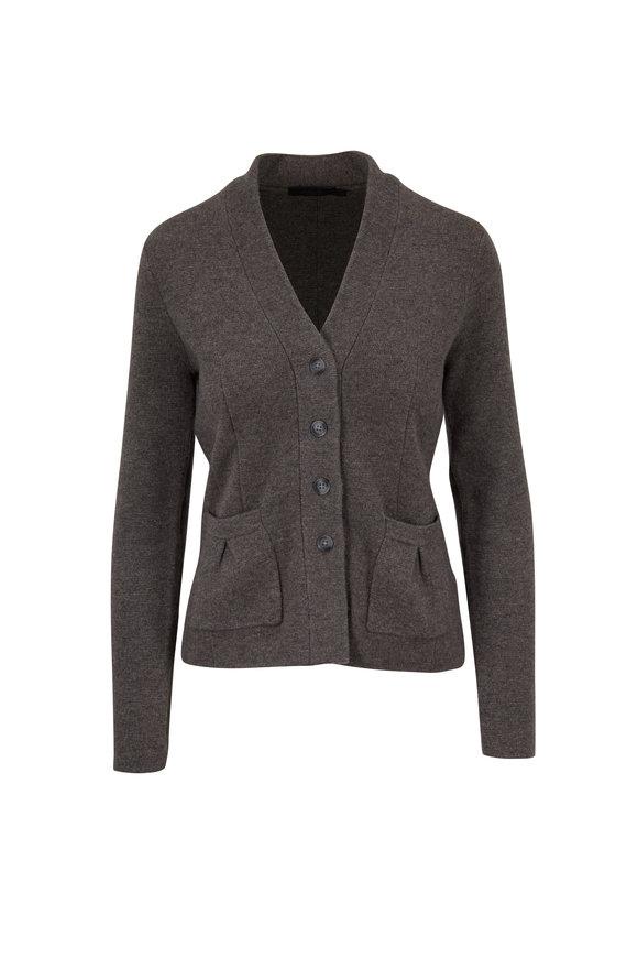 Raffi  Pepper Cashmere Knit Button Blazer