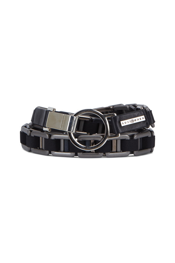 Suzi Roher Black Elasticized Belt