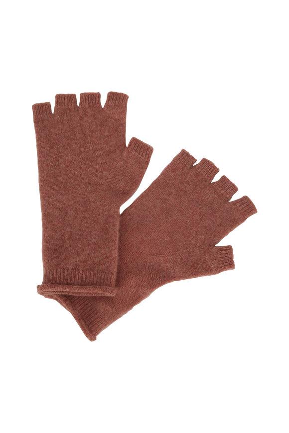 Vince Rose Cashmere Fingerless Gloves