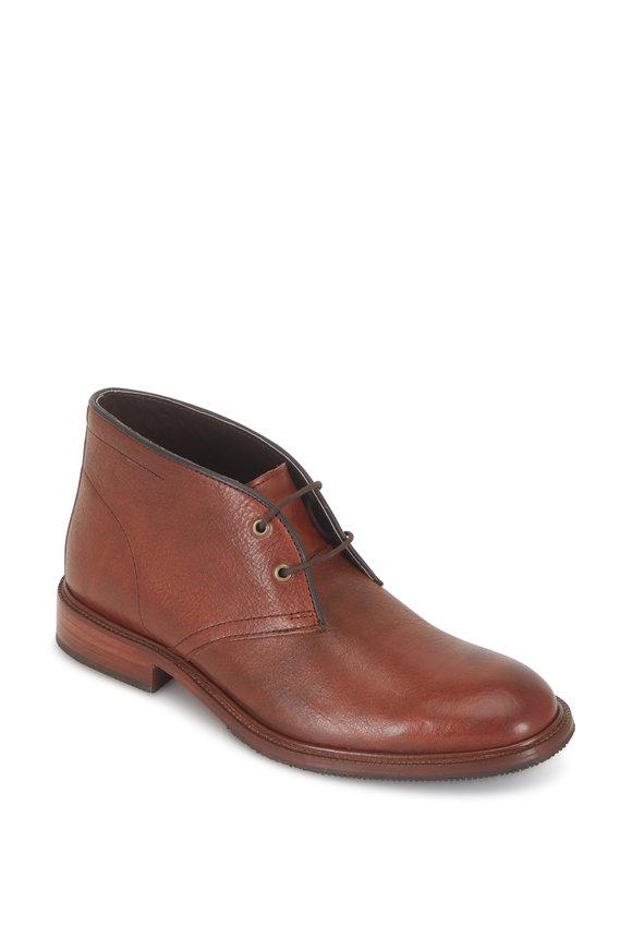 Trask Landers Brown Italian Calfskin Boot