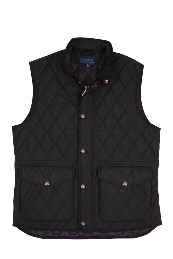 Polo Ralph Lauren Black Quilted Vest