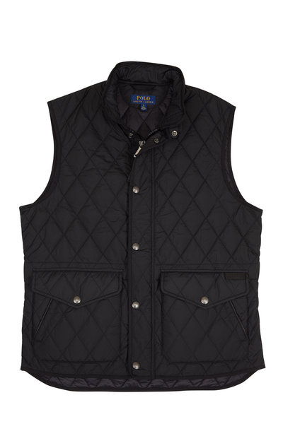Polo Ralph Lauren - Black Quilted Vest