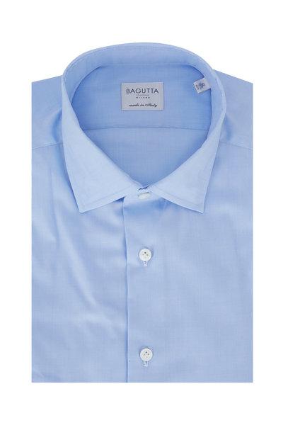 Bagutta - Light Blue Slim Fit Dress Shirt