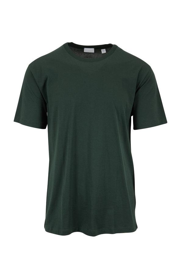 Handvaerk Bottle Green Crewneck T-Shirt