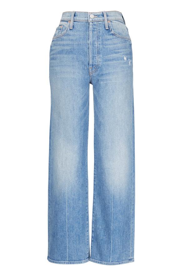 Mother Denim Rambler High-Rise Wide Leg Ankle Jean