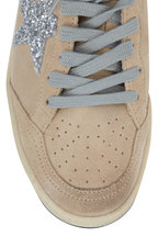 Golden Goose - Ballstar Beige Suede Low Top Sneaker
