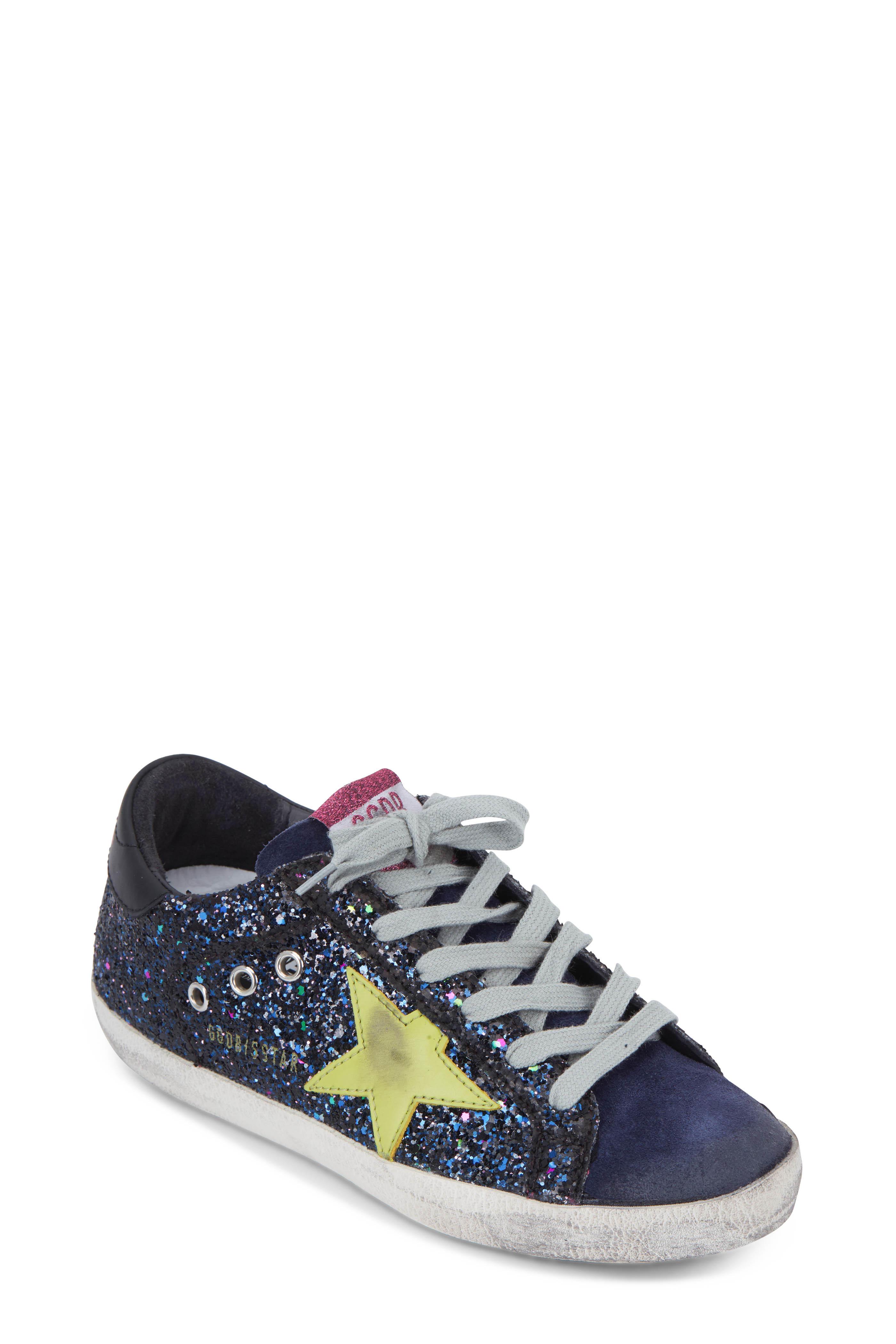 half off 685b1 c76f8 Golden Goose. Superstar Disco Glitter Low Top Sneaker