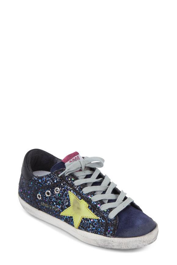 Golden Goose Superstar Disco Glitter Low Top Sneaker