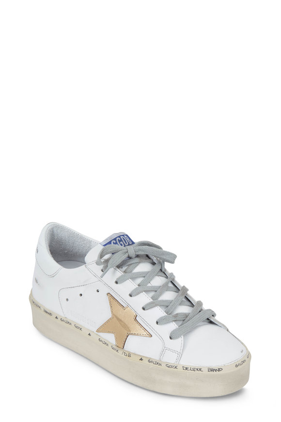 Golden Goose Hi Star White Leather Low Top Sneaker