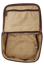 Moore & Giles - Brompton Brown Leather Dopp Kit