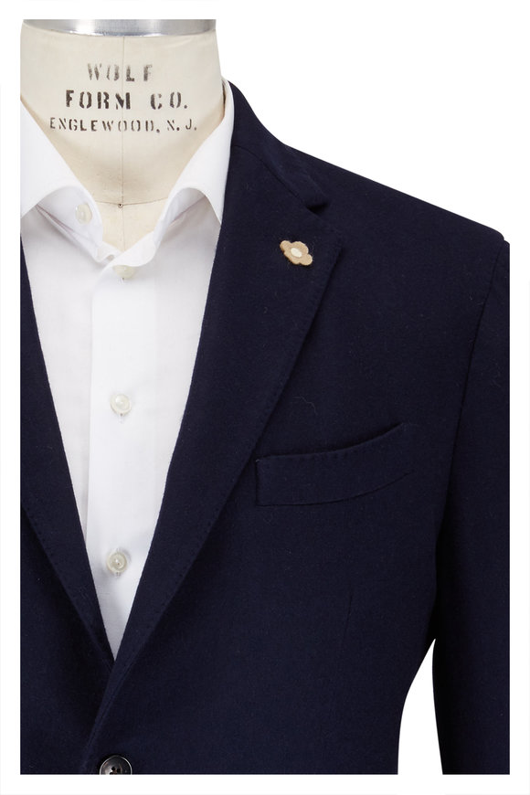 Lardini Navy Cashmere Sportcoat