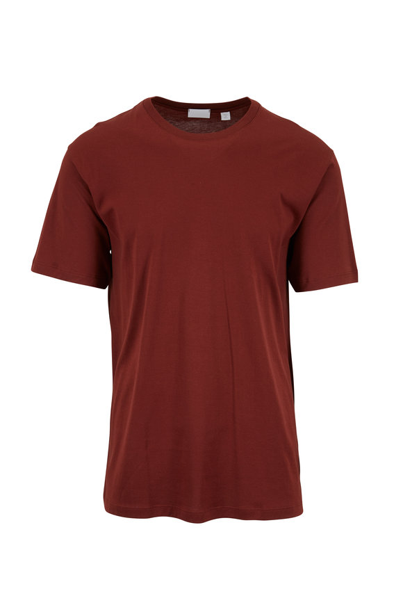 Handvaerk Brick Red Short Sleeve T-Shirt