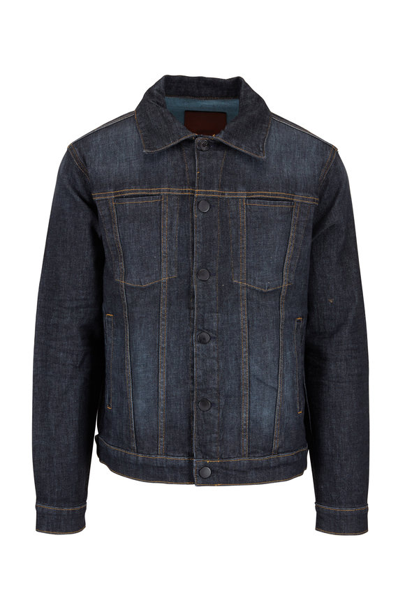Hudson Clothing Donovan Dark Wash Denim Jacket