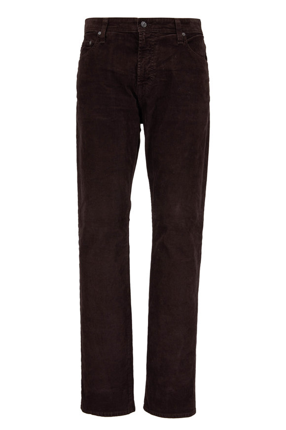 AG - Adriano Goldschmied Everett Brown Corduroy Pant