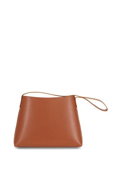 Mansur Gavriel - Saddle Leather Small Hobo Bag