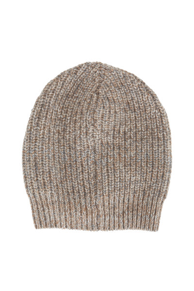 Brunello Cucinelli - Light Brown Cashmere Beanie