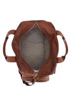 Brunello Cucinelli - Medium Brown Leather Duffle Bag
