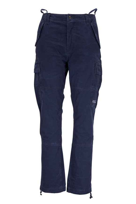 Polo Ralph Lauren Navy Cotton Cargo Pant