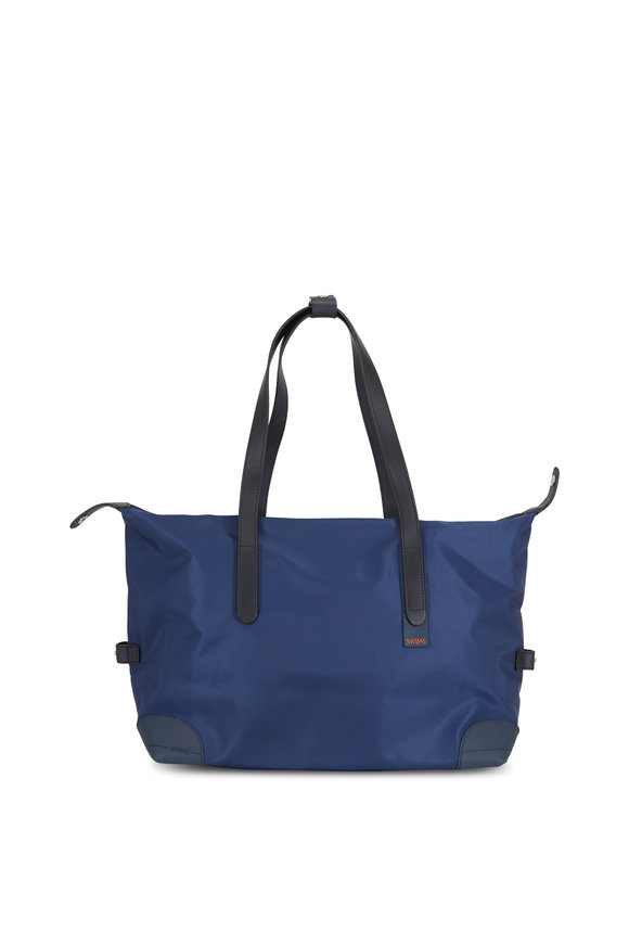 Swims 24-Hour Navy Blue Waterproof Nylon Holdall Bag