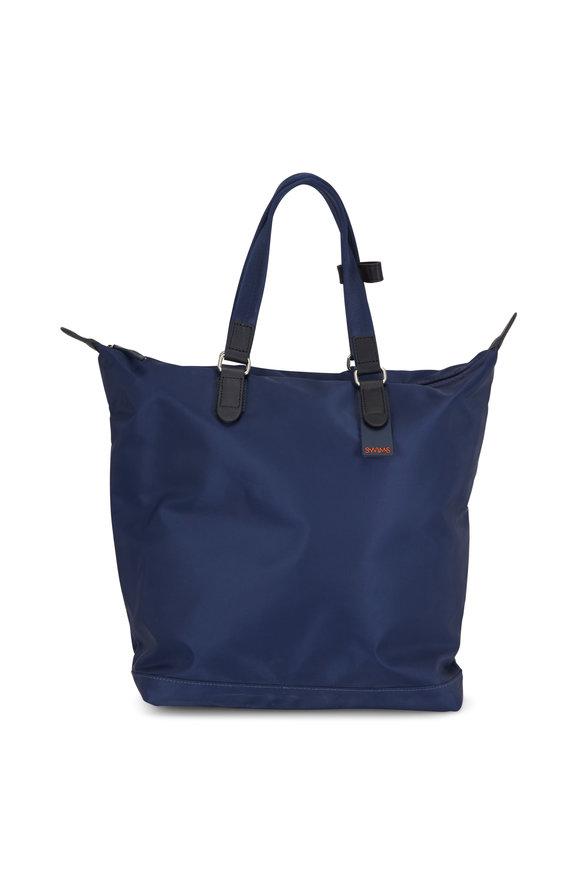 Swims Navy Blue Nylon Waterproof Bag