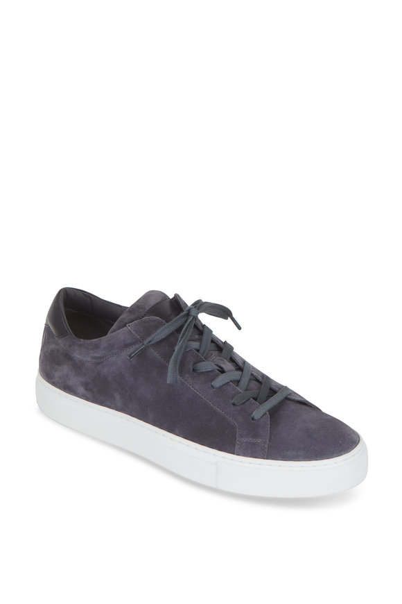 To Boot New York Knox Slate Suede Low-Top Sneaker