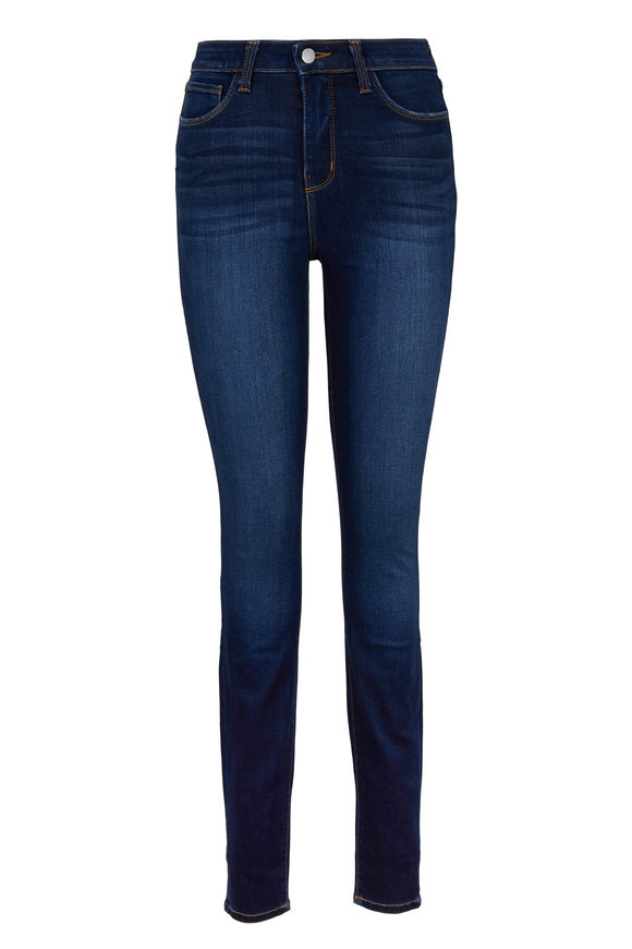 L'Agence Marguerite Medium Wash High-Rise Jean