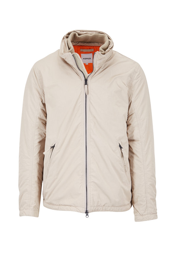 Aspesi Mushroom Thermore Zip Jacket