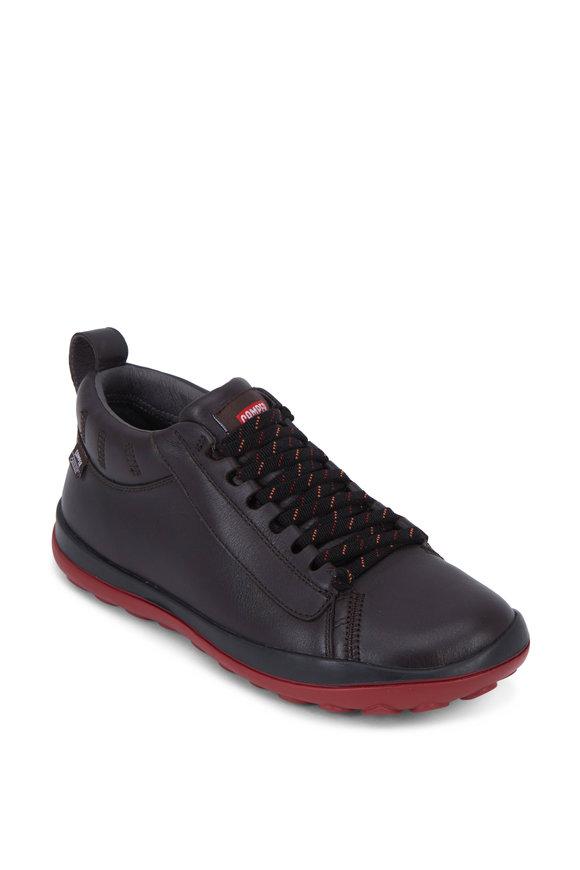Camper  Peu Pista Black Leather Gore-Tex® Boot