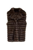 Oscar de la Renta Furs - Tip Dyed Sable Vest
