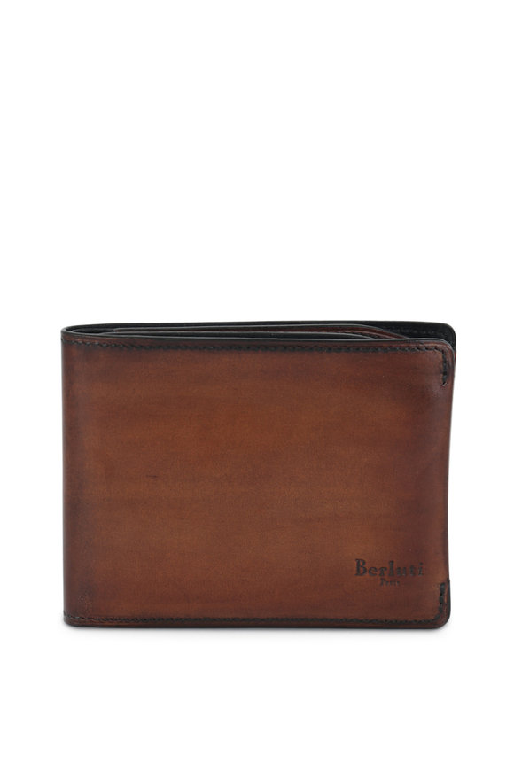 Berluti Essential Dark Brown Leather Wallet