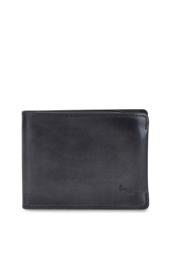 Berluti Essential Black Leather Wallet