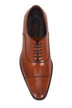 To Boot New York - Knoll Cognac Leather Cap-Toe Dress Shoe