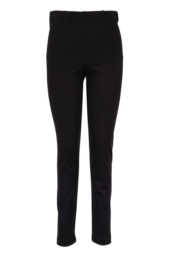 D.Exterior Black Stretch Pull-On Pant