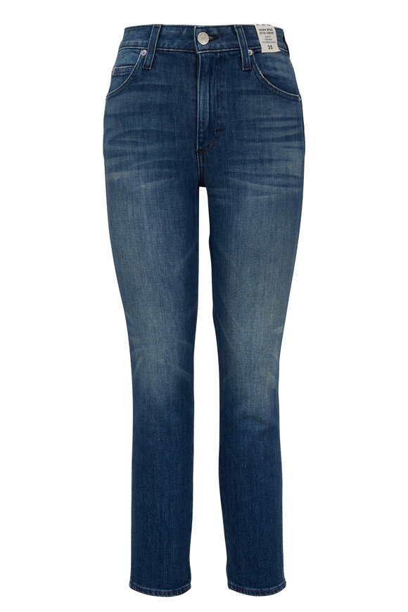 Amo Stix High-Rise Slim Fit Crop Jean